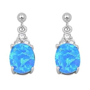 925 Sterling Earrings with CZ